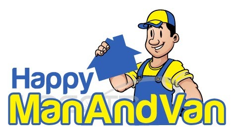 Happy Man and Van Removals